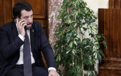 """""""L'autodifesa di Salvini"""""""