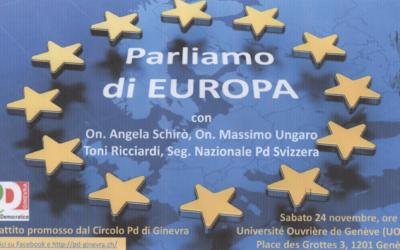 Parliamo di EUROPA