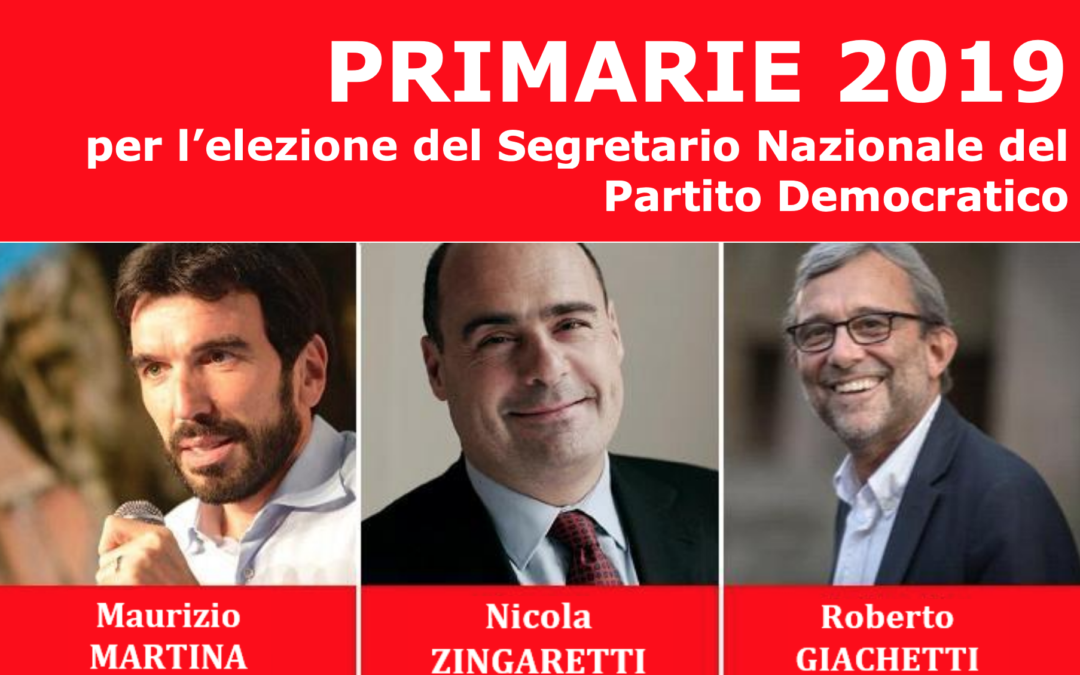 Primarie 3 marzo 2019